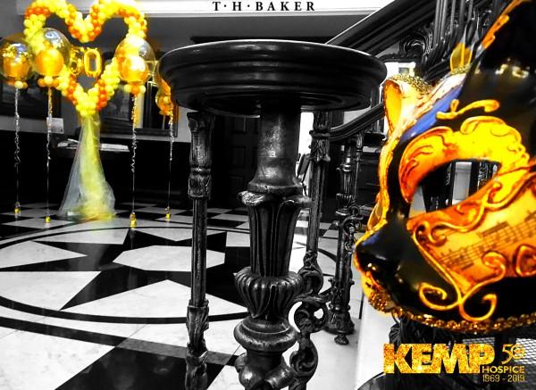 KEMP Golden Butterfly Ball